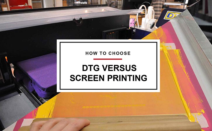 Knowing When to DTG versus Screen Print