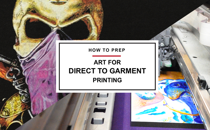 Prepare Art for Direct-to-Garment Printing